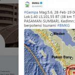 Gempa Pasaman Terasa di Kuamang Kuning
