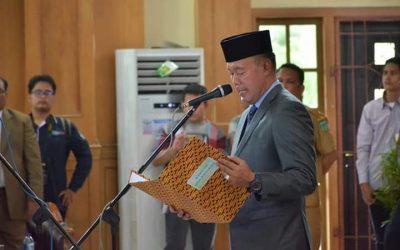 Bupati Lantik Ka. UPT SD dinas Dikbud kabupaten Tebo