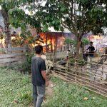 Ledakan Tabung Gas Subsidi Hanguskan Satu Rumah