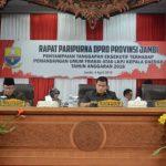 DPRD Paripurna Dengar Jawaban LKPJ Gubernur Jambi TA 2018