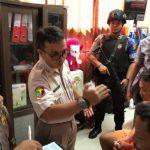 Pimpinan KKB SMB Jalani Tes Narkoba, Polisi Ambil Sample Rambut dan Darah