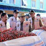 Gubernur Bersama Satgas Pangan Tinjau Harga Sembako di Angso Duo
