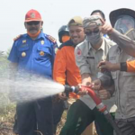 Gubernur Turut Padamkan Api Dilahan Seluas 30 Hektar