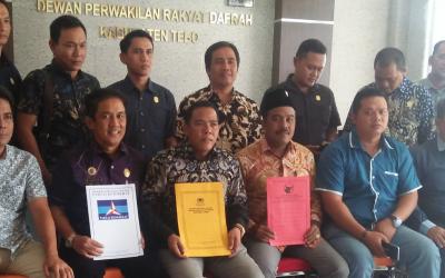 Ketua PN Sibuk, Pelantikan Pimpinan Definitive di Rescedul