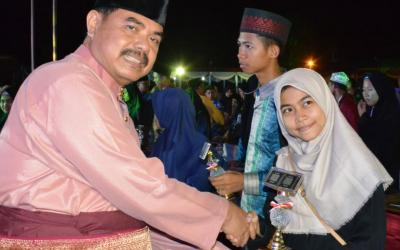 Sekda Tutup MTQ Tingkat Kabupaten Tebo ke XVIII di Sumay