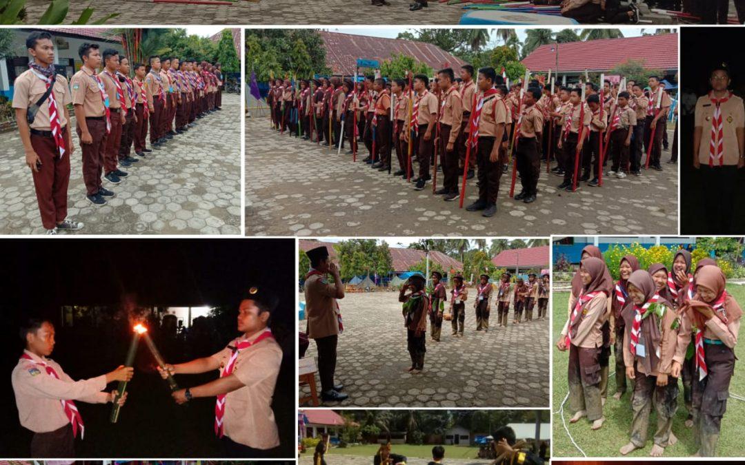 Jambore Pramuka SMPN 2 Tebo Sukses Lantik Siaga ke Penggalang