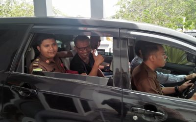 Kasus Mark Up Pengadaan LPJU DD 2017, Kadis PMD Tebo, Suyadi di Tahan