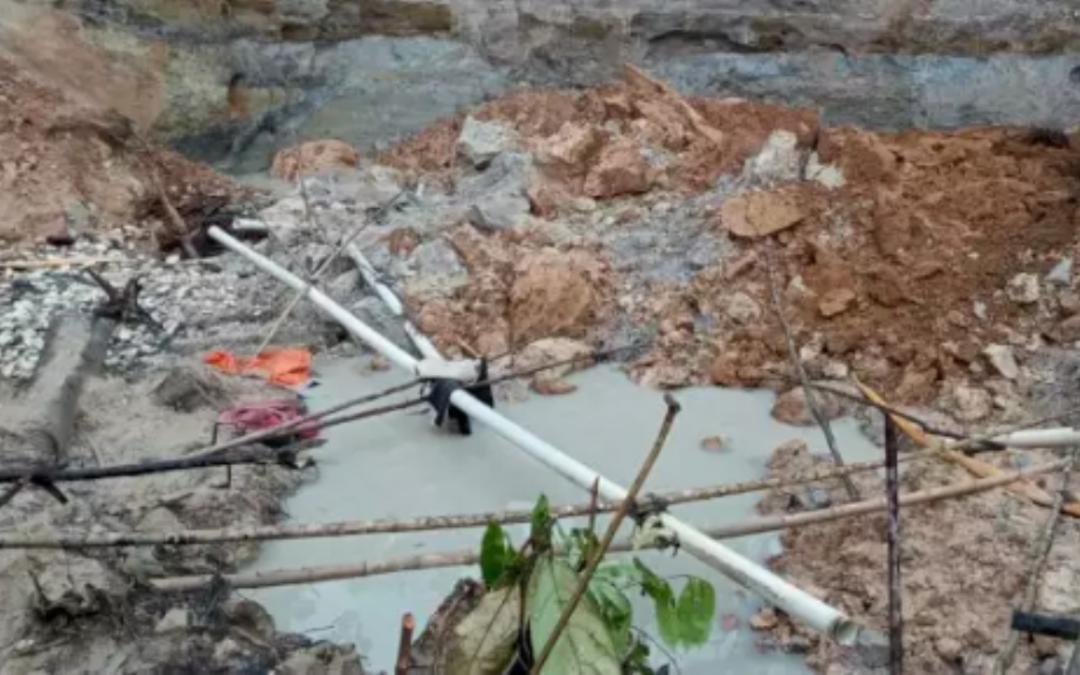 Lima Jenazah Penambang Emas Liar Korban Longsor di Evakuasi