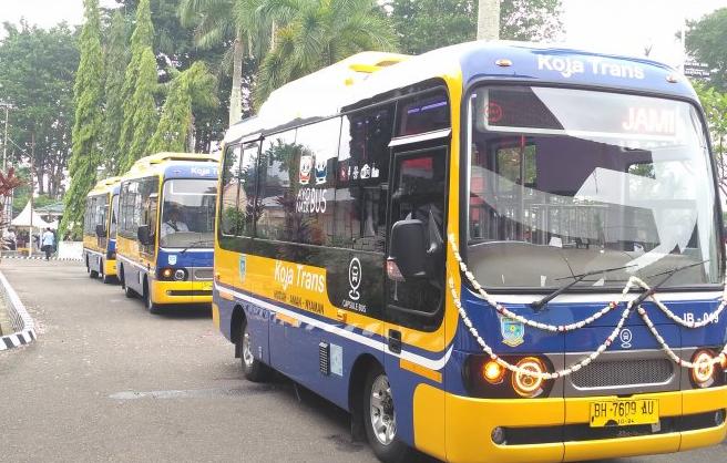 Desember, Tarif Bus Koja Trans Jambi Berlaku Normal