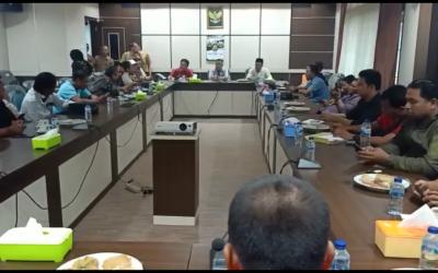 Pimpinan DPRD Tebo Ajak Media Kerjasama Publikasi Yang Berimbang