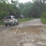 Puluhan Kilo Meter Akses Jalan Hancur, Belum Tersentuh Perbaikan