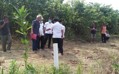 Batas Lahan Lokasi Pembangunan Mapolsek Tebo Tengah Bermasalah