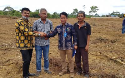 Soal Batas Lahan Pembangunan Mapolsek Tebo Tengah Sudah Clear