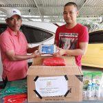 Wabup Syahlan Terima Bantuan Penanganan Covid-19 dari Persatuan Notaris
