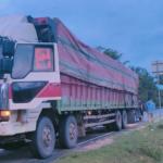 Diduga Illegal Logging, Polda Jambi Amankan Mobil dan Sopir Pengangkut