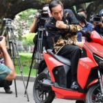 Kacau!! Buruh di Kota Jambi Menang Lelang Motor Listrik Presiden