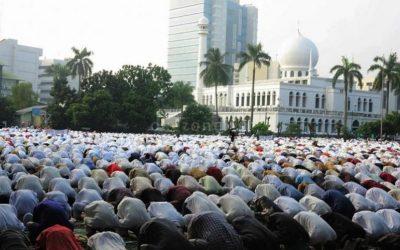 NU Haramkan Sholat Idul Fitri di Masjid Daerah Zona Merah Pandemi COVID-19