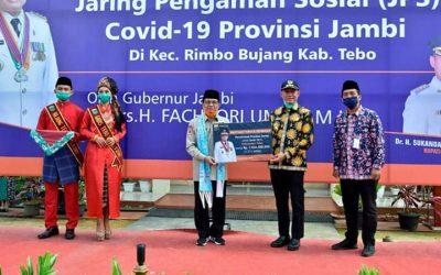 Penyerahan Bantuan JPS Pemprov Jambi di Rimbo BuJang