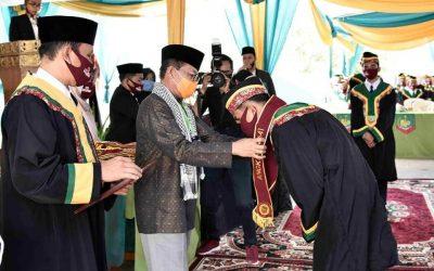 Tiga Pesan Gubernur Wisuda Santri Akhir PKP Alhidayah Jambi