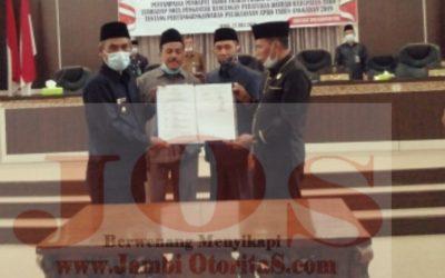 Saran dan Catatan 7 Fraksi Jadi Surat Keputusan DPRD Tebo 2020
