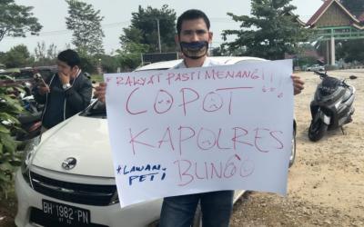 Polisi Diminta Konsisten Cegah PETI di Kabupaten Bungo