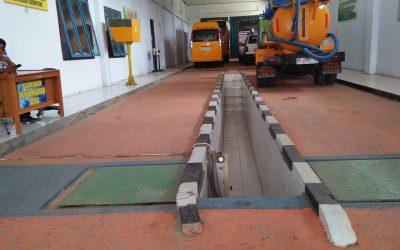 Kemenhub Setop Uji KIR Kendaraan Bermotor Dinas LH dan Perhubungan kabupaten Tebo
