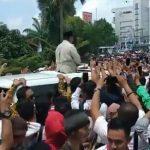 Prabowo : Emak – emak kalau ketemu banyak yang menarik saya