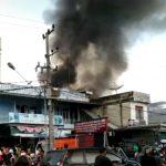 Kebakaran Hanguskan Bedeng di Bungo Dani