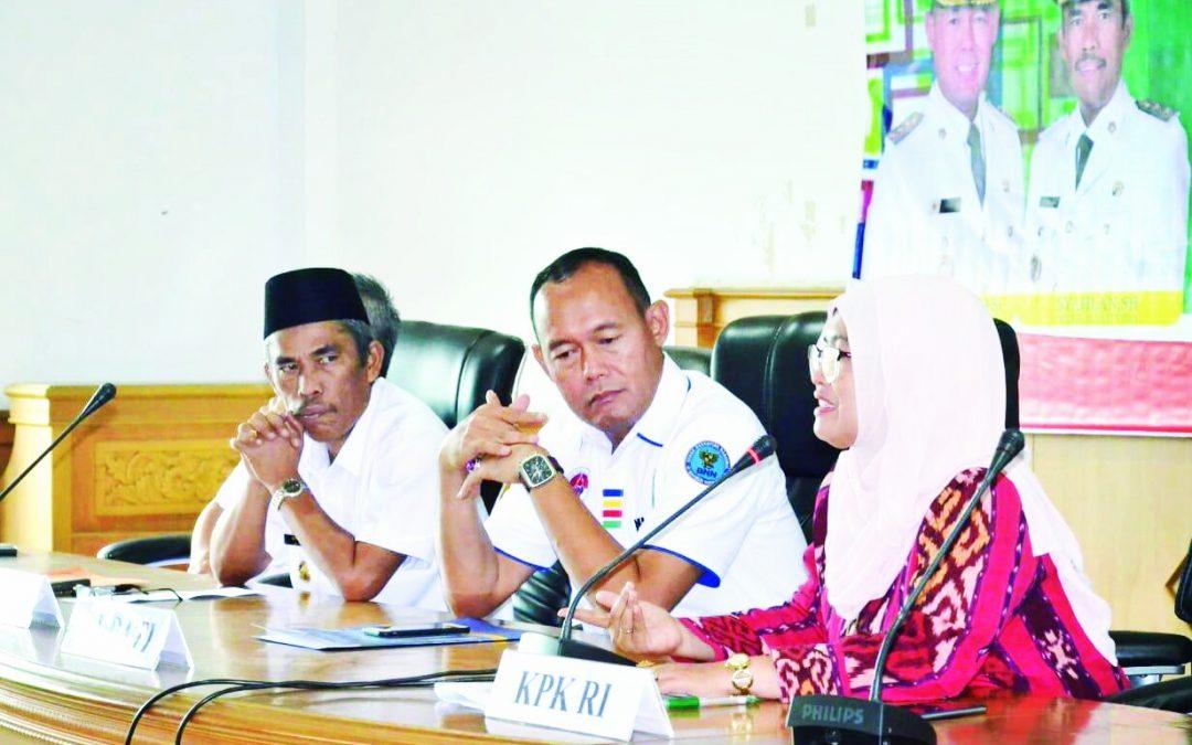 Rakor Pemkab Tebo Bersama Korsupgah KPK