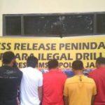 Muchlis Minta Laporkan Oknum Aparat Terlibat Illegal Drilling