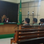 Sidang Tiga Mantan Dewan, Dakwaan JPU Rahima Terima 200 juta di Rumah Dinas Wagub