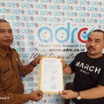 """ADRC Terdaftar Di Kesbangpol Prov, David : """"Kita Lengkap Perizinan Lembaga"""""""