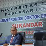 Bupati Tebo Raih Gelar Doktor Ilmu Ekonomi Dengan IPK 3,85