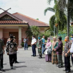 Bupati dan Jajaran Pemkab Tebo Menerima Kunker Kasdam II/ Sriwijaya