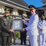 Atas Dukungan Dan Kerjasama Pemkab. Tebo, Pangdam II Sriwijaya Beri Penghargaan