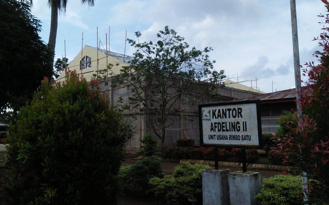 Polemik Asset Dibangun dari Dana Desa Dalam HGU PTPN 6 Rimsa