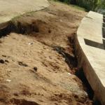 Proyek Turap Penahan Tebing di Teriti Sumay Hancur, Satu Rumah Nyaris Longsor