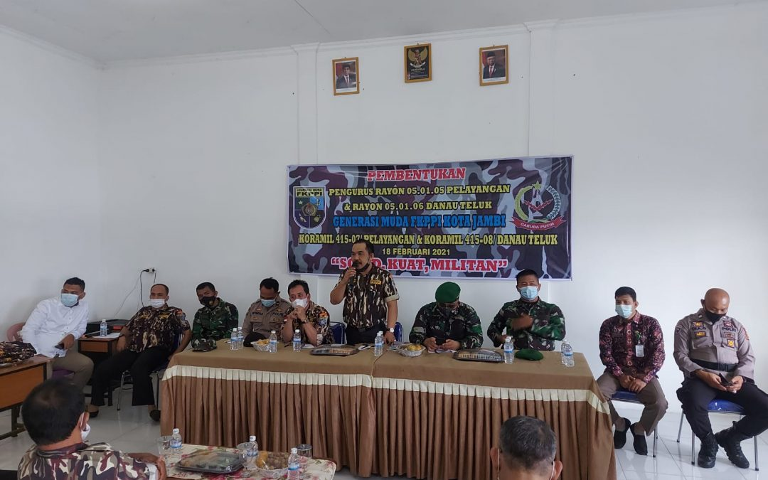 Tuntas Bentuk Seluruh Rayon, GM-FKPPI Kota Jambi Siapkan Program Kerja