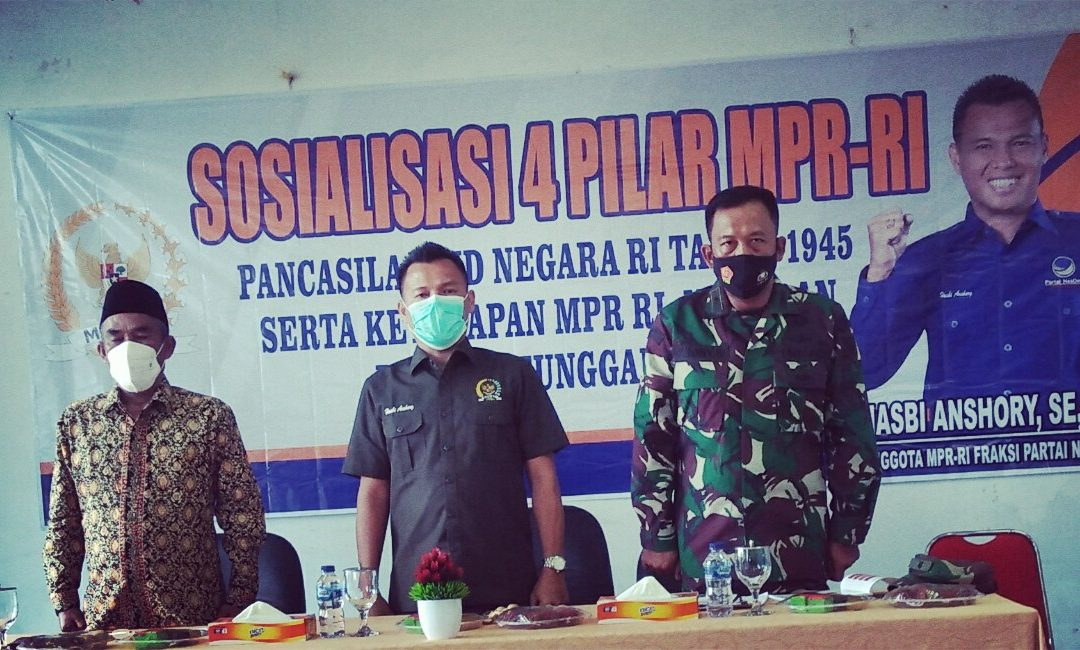 Fraksi Nasdem DPR Dapil Jambi Sosialiasi 4 Pilar MPR RI di Muara Tebo