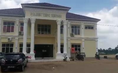 Sardi Perintahkan Cek Gedung Mapolsek Tebo Tengah