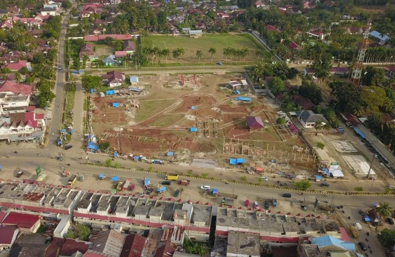 Taman Hijau di Wiroto Agung Upaya Dongkrak Pemulihan Ekonomi