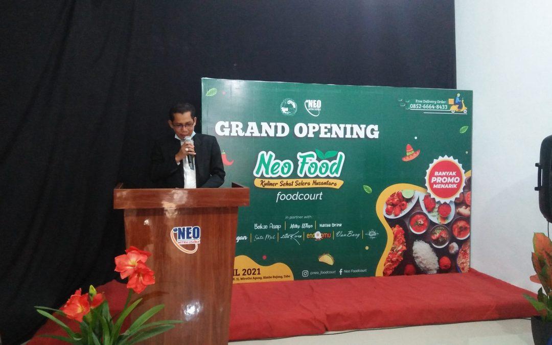 Pusat Kuliner Neo Food Court Pilihan Alternatif di Rimbo Bujang