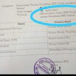 Camat Sumay, Ambiar : Sekdes copy paste SK dari desa lain