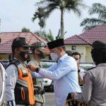 Bupati Tebo Inspektur Apel Pasukan Operasi Ketupat 2021