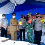 Tinjau Pos Pengamanan Idul Fitri,  Sukandar Dukung Pelarangan Mudik