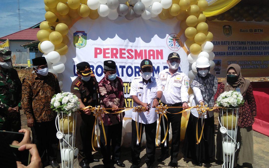 Sukandar Awali Peletakan Batu Pertama Pembangunan Gedung Polikklinik RSUD STS