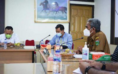 Wabup Syahlan Audiensi Bersama Anggota DPRD Provinsi Jambi