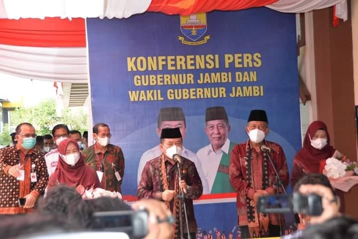"""Gubernur Jambi, Al Haris : """"Tugas pertama penanganan COVID-19 dan pemulihan ekonomi"""""""