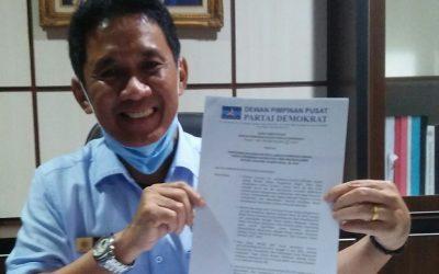 DPP Kembalikan Posisi Jabatan Ketua DPC Demokrat Tebo, Iday : Bagi yang punya hasrat nanti bertarung di Muscab