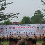 Gubernur Al Haris Pembina Upacara Hari Pramuka ke 60 di Tebo